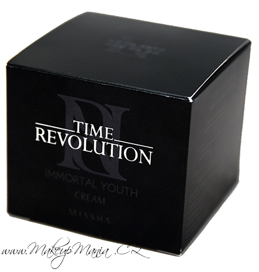 Missha - Time Revolution - Immortal Youth Cream - krabička